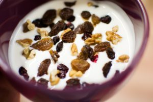For some it's simply natural yoghurt, dried fruit and muesli