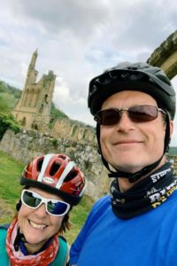 Discovering Byland Abbey on 2 wheels